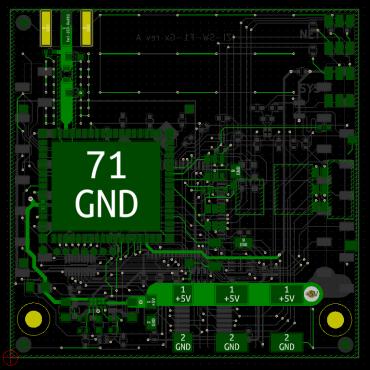 routage d'un circuit imprimé